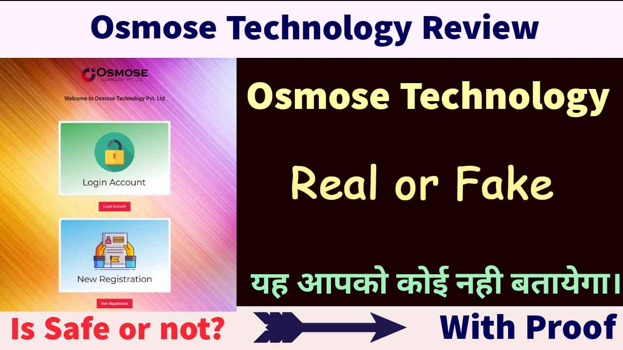 Osmose Technology Real or Fake