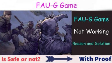 FAUG Game Not Working