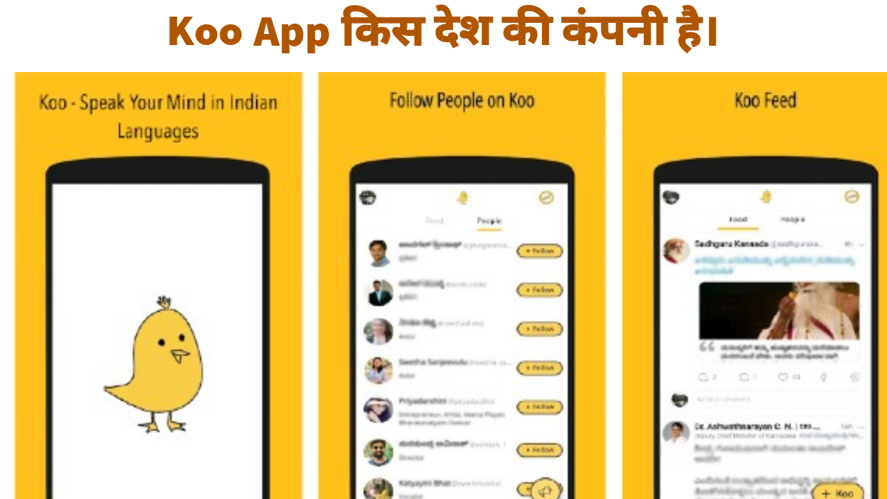 Koo App Origin Country