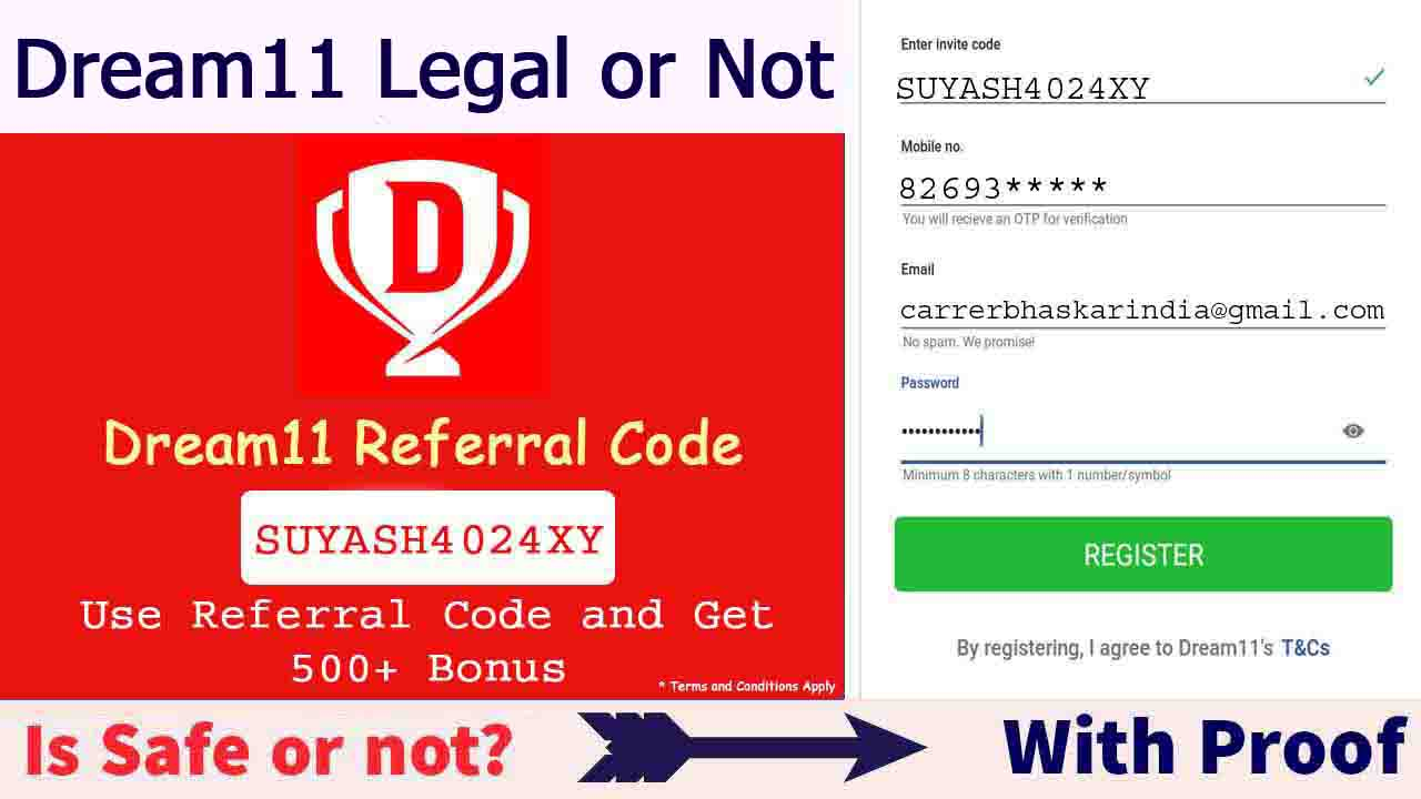 Dream11 Legal or Not