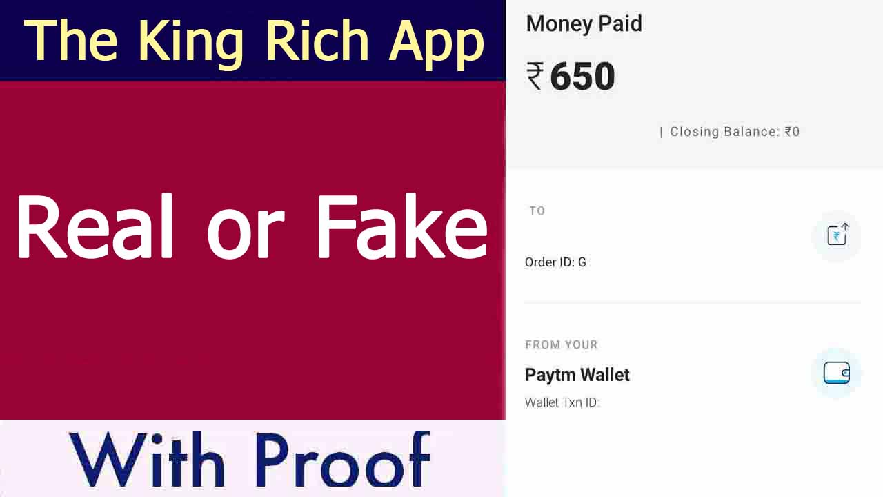 King Rich App Review