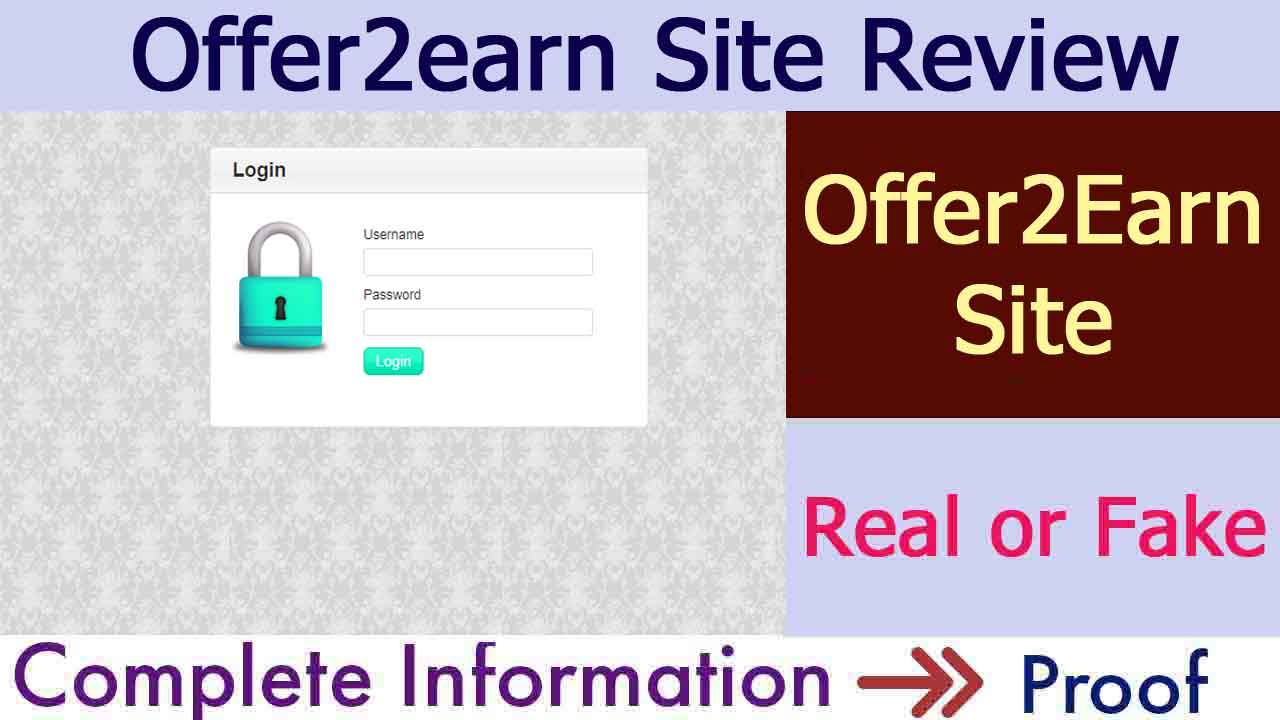 Offer2earn Site Real or Fake