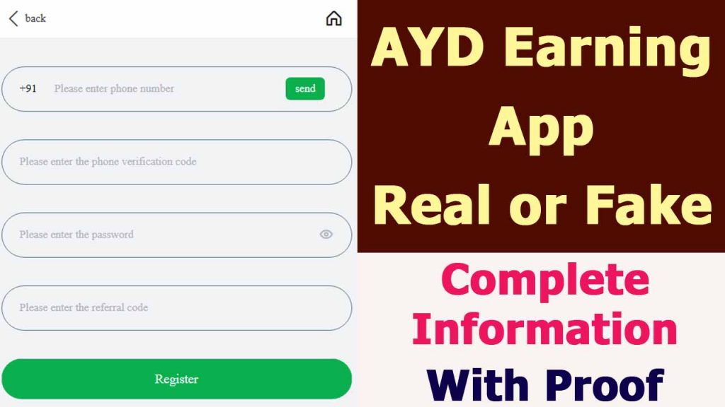 AYD Earning App Review