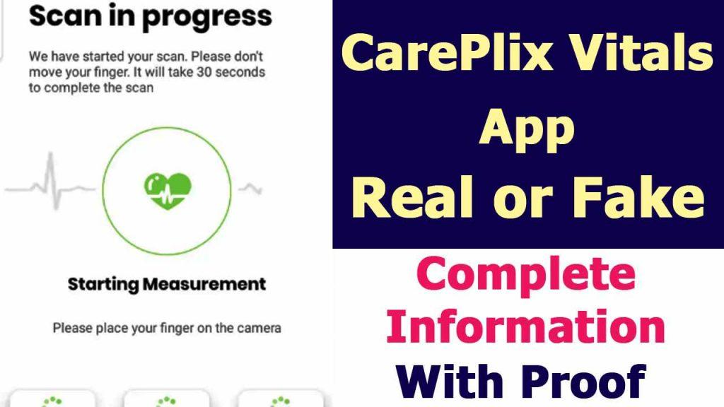 CarePlix Vitals App Review