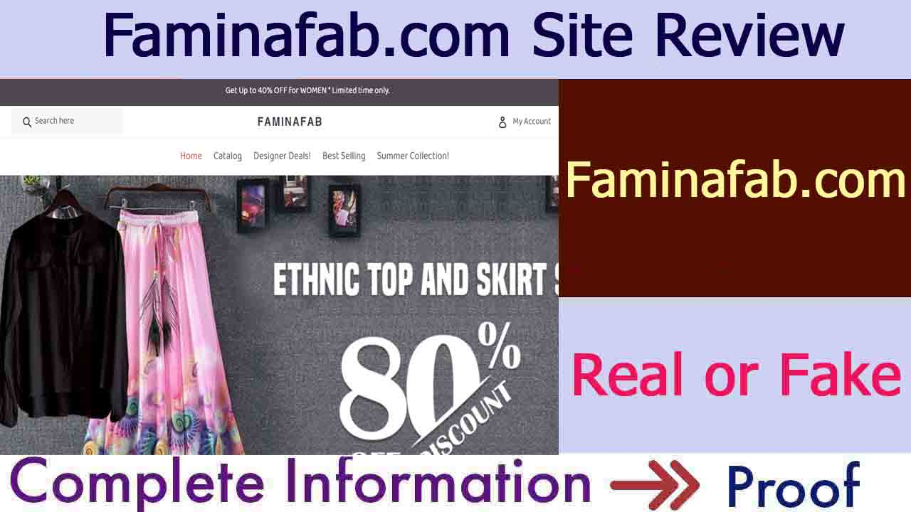 Faminafab Site Review