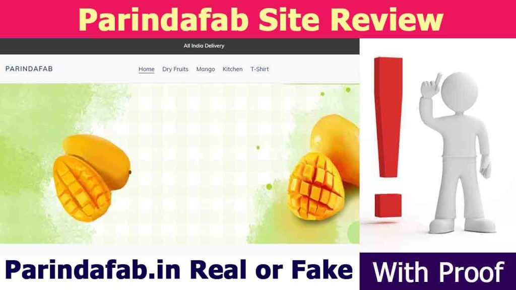 Parindafab Site Review