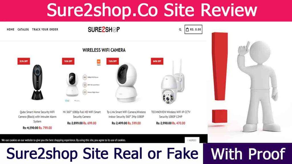 Sure2shop Site Review