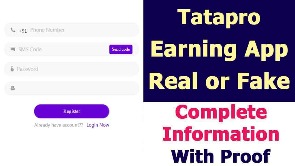 Tata Pro Earning App