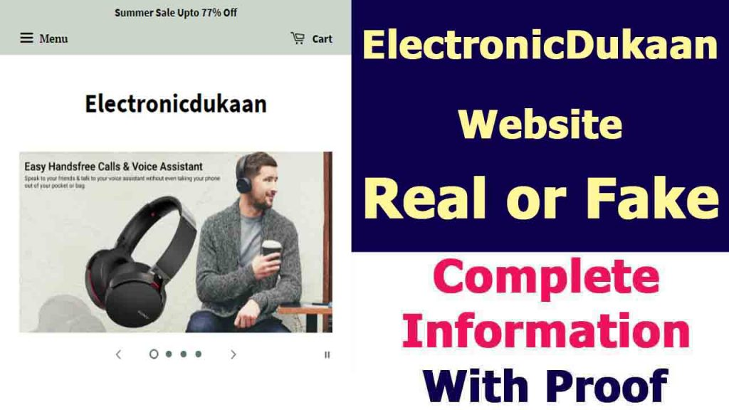 Electronic Dukaan Site
