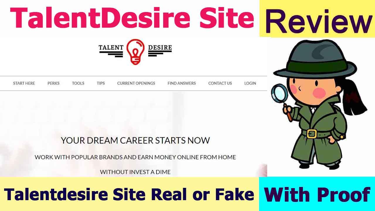 Talentdesire Site