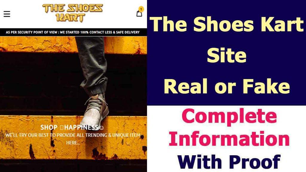 Theshoeskart Site