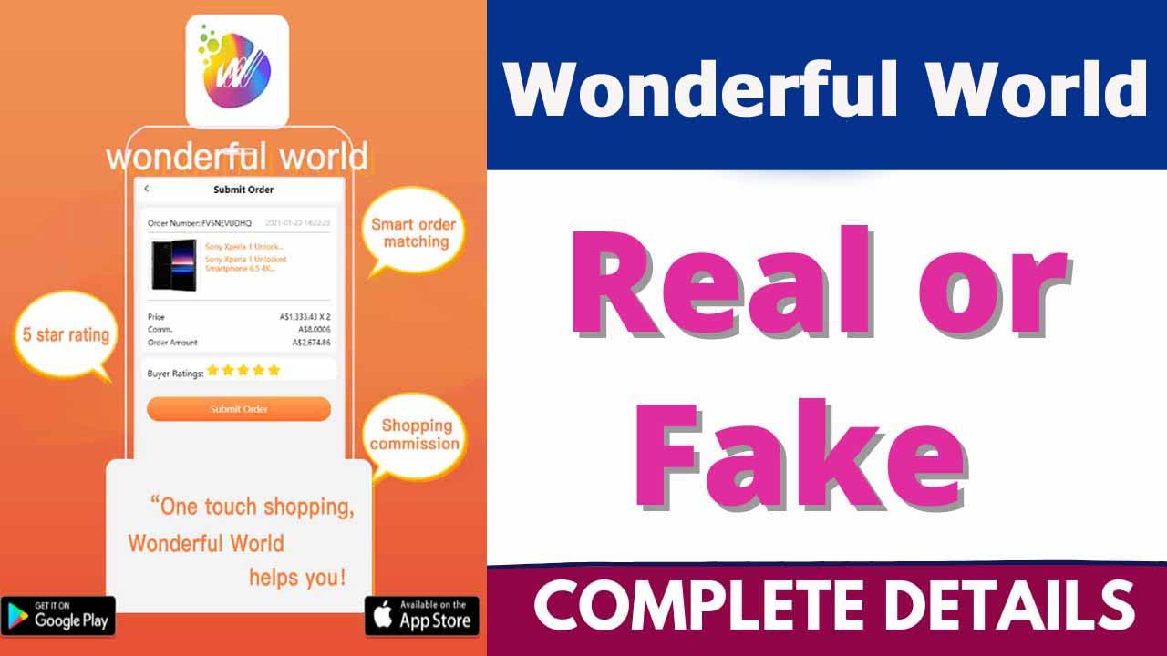 Wonderful World App