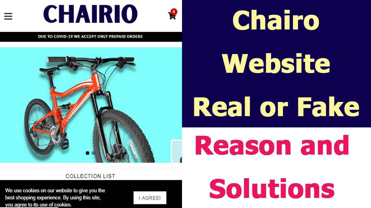 Chairio Site Review