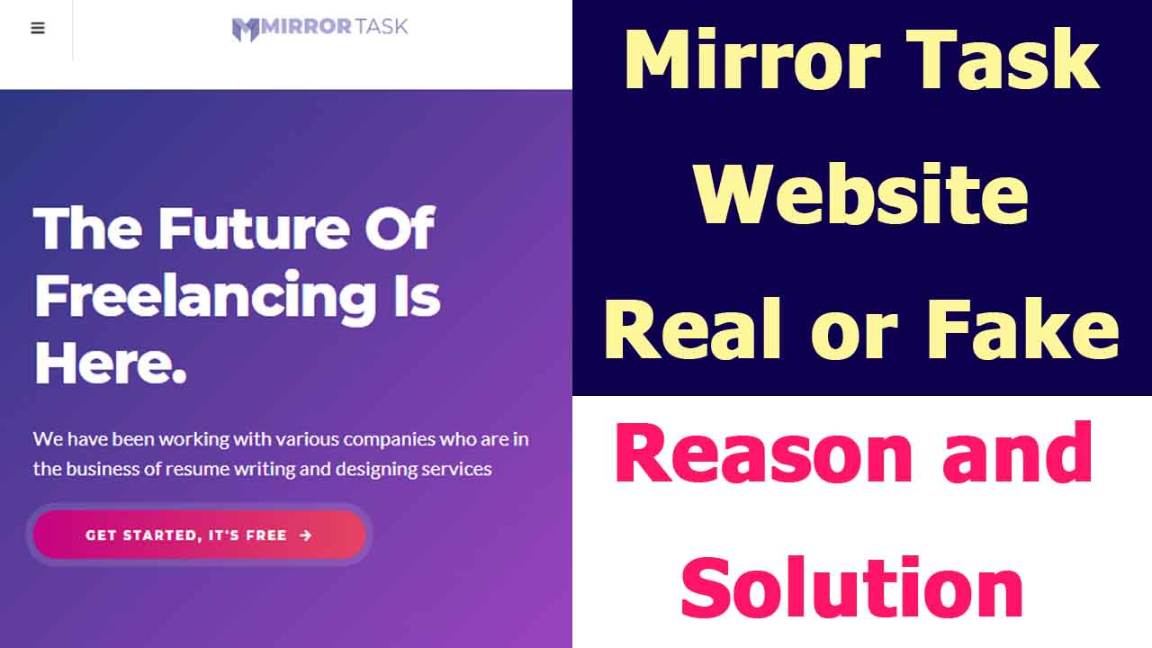 Mirror Task Site Review