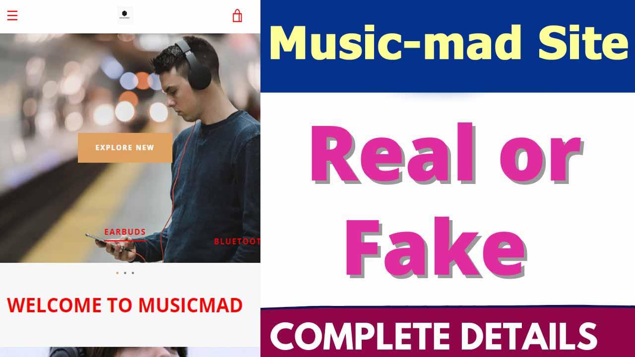 Music Mad Site