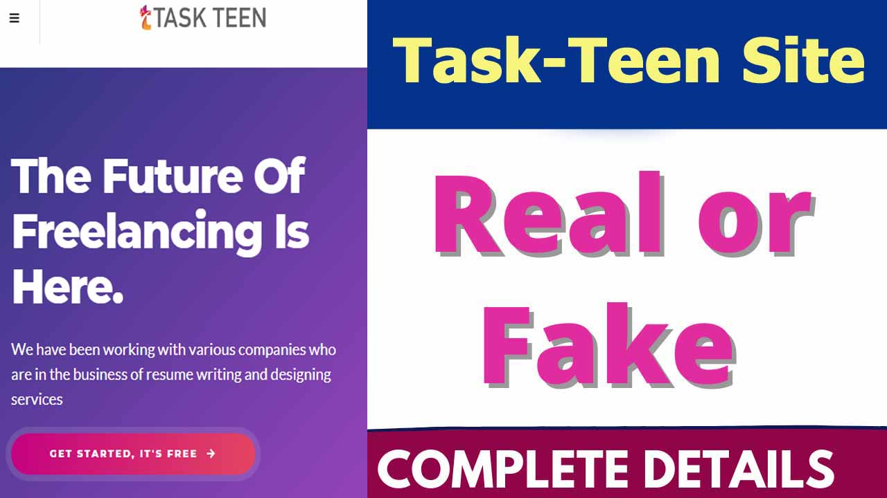 Task Teen Site Review