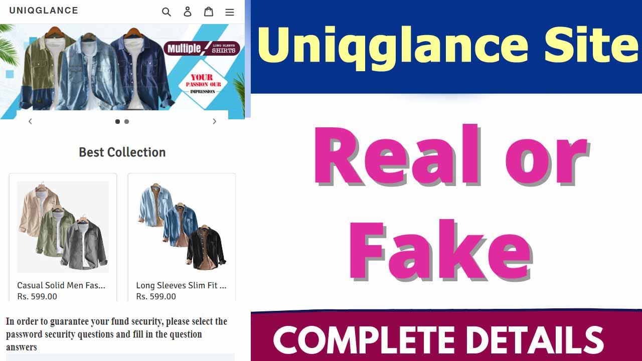 Uniqglance Site