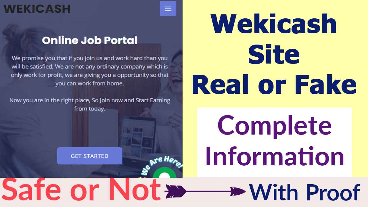 Wekicash Site Review