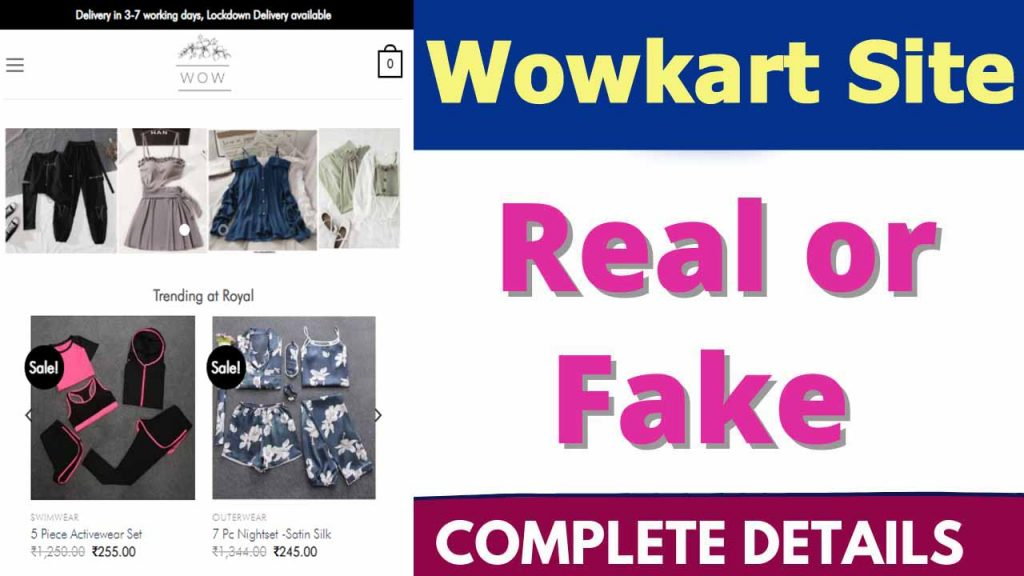 Wowkart Site Review