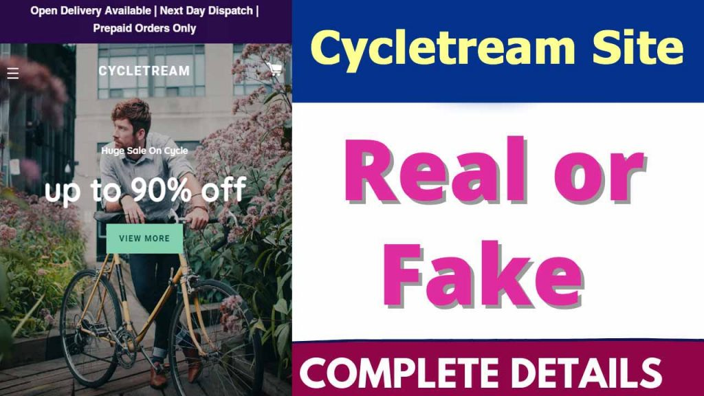 Cycletream Site Review