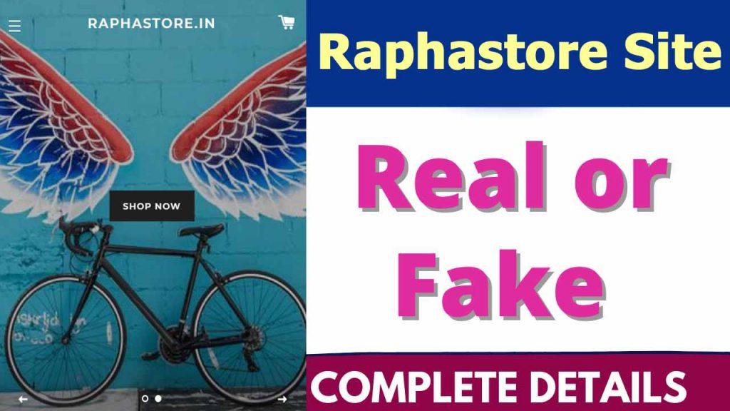Raphastore Site Review