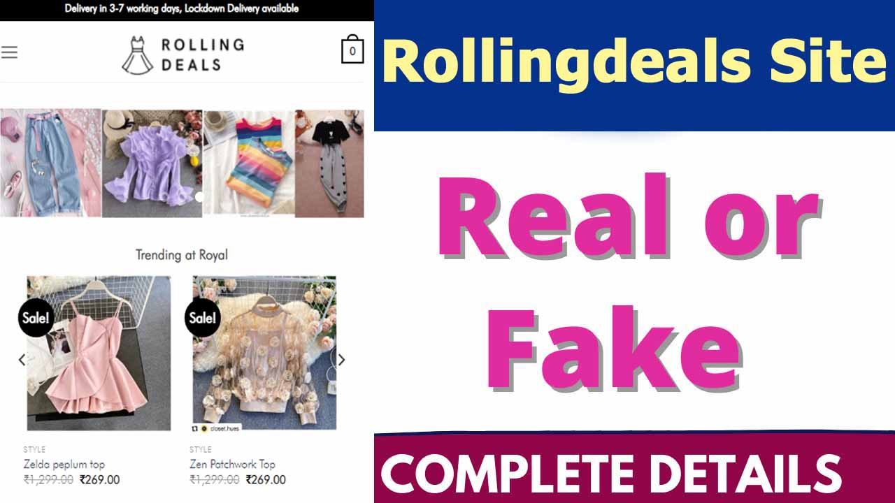 RollingDeals Site Review