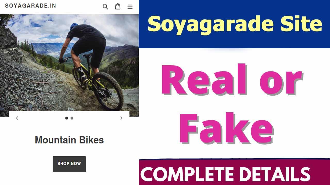 Soyagarade Site Review