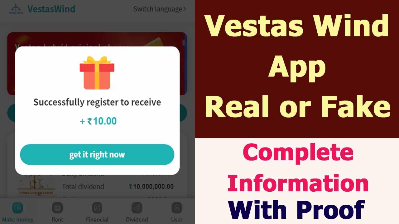 Vestas Wind App Review